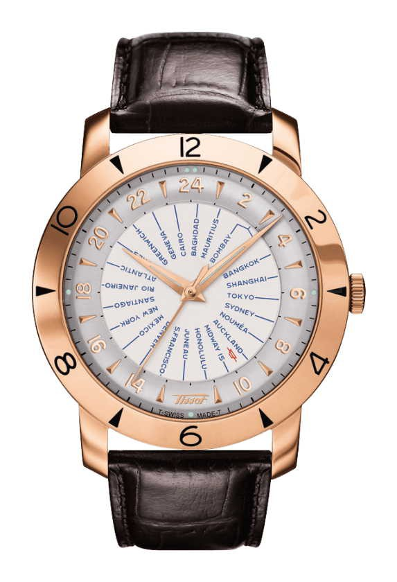 TISSOT HERITAGE AUTOMATIC GOLD 160TH ANNIVERSARY T915.641.76.037.00