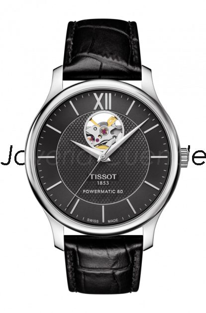 Reloj Tissot Tradition Powermatic 80 Open Heart T063.907.16.058.00