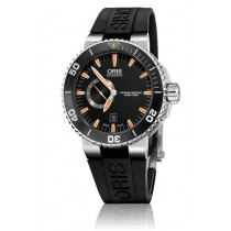 Reloj Oris ® DIVING OR74376734159  Aquis Small Second, Date
