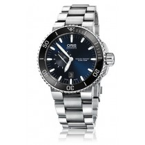 Reloj Oris ® DIVING OR74376734135 Aquis Small Second, Date