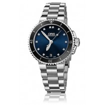 Reloj Oris ® DIVING OR73376524195 Aquis Date Diamonds