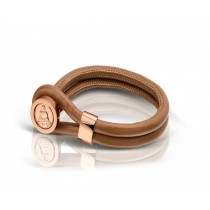 Cambio Bracelet Brown para Monedas XS
