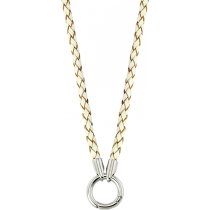 Colgante Necklace Leather White
