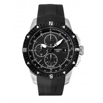 Reloj Tissot T-Navigator Automatic Black Dial Stainless Steel Mens Watch T062.427.17.057.00