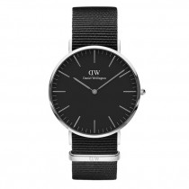 Reloj Daniel Wellington Classic Black Cornwall DW00100149 40mm